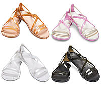 Босоножки женские балетки Кроксы Изабелла Страп оригинал / Crocs Women's Isabella Strappy Sandal, фото 1