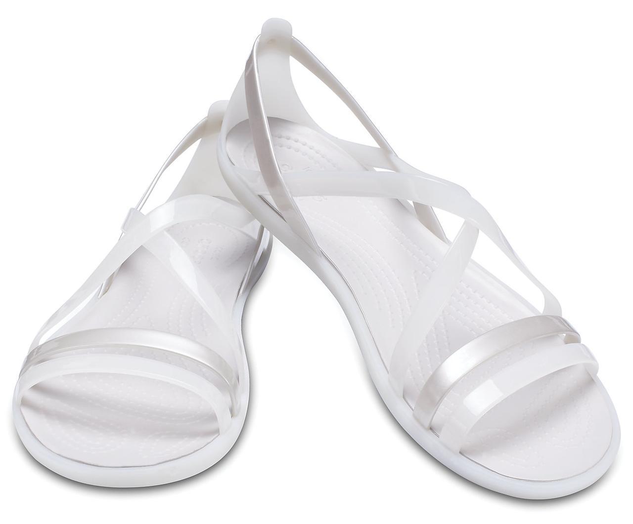 Босоножки женские балетки Кроксы Изабелла Страп оригинал / Crocs Women's Isabella Strappy Sandal