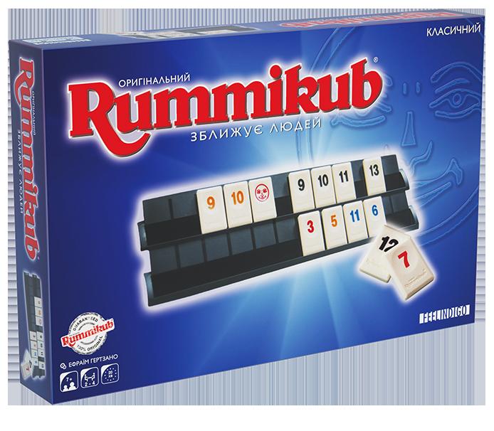 Feelindigo Настільна гра Rummikub classic Руммикуб FI1600