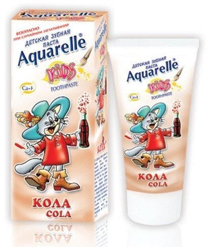 """Зубная паста для детей Aquarelle """"Кола"""" (50мл.)"""