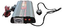 Инвертор напряжения Luxeon IPS-600MC, преобразователь 12 в 220 +зарядка (S07312)