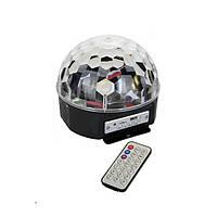 Диско шар Magic Music Ball Light mp3 светомузыка с пультом, фото 1