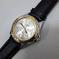 Часы мужские механические с арабскими цифрами золото-серебро Luch 905 диаметр 4 см Беларусь, фото 1
