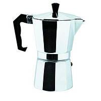 Кофеварка гейзерная Domatec DT-2906 (на 6 чашек) (S07386)