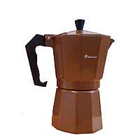 Кофеварка гейзерная Domatec DT-2706 (на 6 чашек) (S07394)