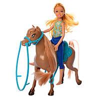 Кукла c лошадкой K899-60 шарнирная
