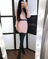 Платье-туника Соня пудра с-л