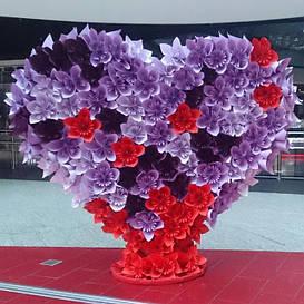 Декор из бумаги и изолона - помпоны, цветы, ростовые цветы, картонные декорации, 3D фигуры