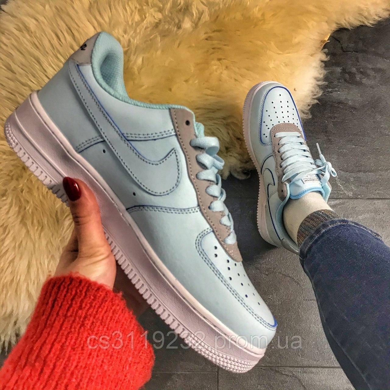 Женские кроссовки Nike Air Force Low (мятные)