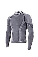 Мужская термокофта Hanna Style Haster Merino Wool 8 % S-M Темно-серый (h0219)