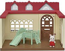 Малиновый Домик кролика Сильвания Фемели Sylvanian Families 5393 Sweet Raspberry Home