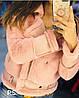 Женская, стильная дубленка 1203-0222-6