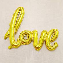 Фольгированная надпись Love 45 см 1660
