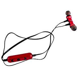 Вакуумные Bluetooth наушники DeepBass D-22 (КРАСНЫЕ) D1001 (S07490)