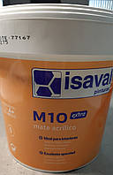 Краска интерьерная акриловая глубоко матовая МАТЭ М-10 mate M 10 extra экстра Isaval 5 кг, фото 1