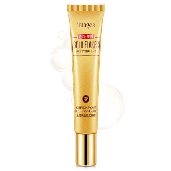 Крем для глаз Images Gold Flakes eye cream с частицами золота и гиалуроновой кислотой 20 гр