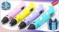 3D ручка PEN-2 с Led дисплеем, 3Д ручка 2 поколения Smartpen, MyRiwell, Акция!! ФИОЛЕТОВАЯ