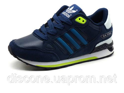 Кроссовки детские Adidas ZX750, синие