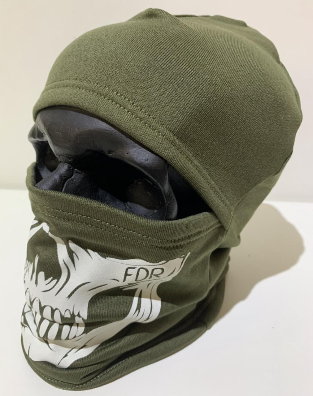 Балаклава череп (Skull) FDR хаки