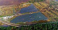 На Харьковщине электричество генерирует солнечная станция мощностью 2,4 МВт