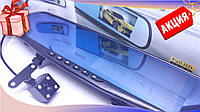 Видеорегистратор-зеркало Vehicle Blackbox DVR Full HD, регистратор в авто, экран справа от водителя