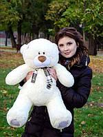 Плюшевый Мишка Тедди 80 см  Медведь игрушка Плюшевый медведь Мягкие мишки игрушки Ведмедик(Белый)