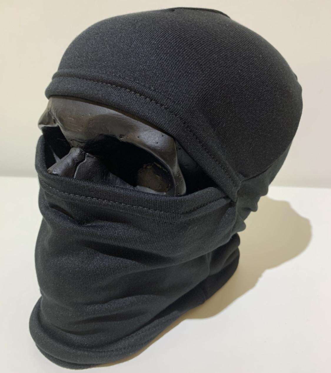 Балаклава подшлемник маска зима/лето (Ninja) FDR черная