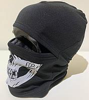Балаклава череп (Skull) FDR черная, фото 1