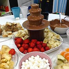 Шоколадный фонтан для фондю Chocolate Fountain, фото 3