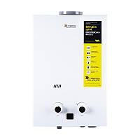 Колонка газовая дымоходная Thermo Alliance Compact JSD 20-10CL 10 л белая, фото 1