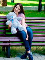 Плюшевый Мишка Тедди 60 см  Медведь игрушка Плюшевый медведь Мягкие мишки игрушки Ведмедик(Серый), фото 1