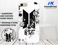 Силиконовый чехол для Huawei Honor 7x BTS (17150-2056)