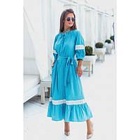 Красивое летнее платье длинное №00129