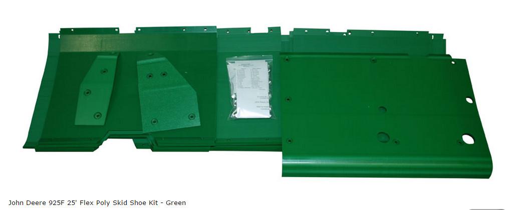 Комплект платика Flex зеленый AH201516