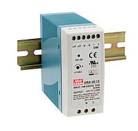 Блок живлення Mean Well DRA-40-12 На DIN-рейку 40,08 Вт, 12 В, 3,34 А (DC/AC Перетворювач)