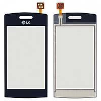 Touchscreen (сенсорный экран) для LG GM360, черный, оригинал