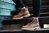 Ботинки зимние мужские South jaston brown, классические кожаные ботинки на меху, фото 2