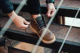 Ботинки зимние мужские South jaston brown, классические кожаные ботинки на меху, фото 4