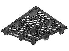 Пластиковый легкий поддон Uline H-1730 1200х1000мм на ножках. Палеты поддоны б/у, фото 2