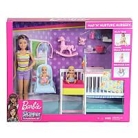 """Набір Barbie """"Дитяча кімната"""" з серії Догляд за малюками (GFL38)"""