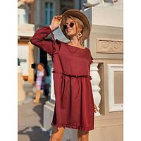 Платье свободное красивое женское Донна 4325