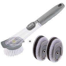 Многофункциональная щетка для чистки посуды Decontamination Wok Brush, фото 2