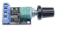 ШИМ контроллер. Управление скоростью двигателя постоянного тока с регулировкой 5-16В 10А