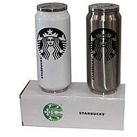 Термос бутылка Нержавеющая сталь Starbucks H-184 500 мл (S07801)