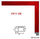 Рамка 25х38 багет 1611 колор, фото 6