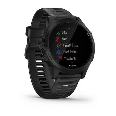 Смарт-годинник Garmin 945 Black, Чорний з Чорним ремінцем