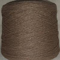 50% меринос 50% дралон мериносовая полушерсть - бобинная пряжа для машинного и ручного вязания