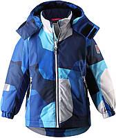 Зимние детские мембранные куртки Reimatec Maunu 2020 г. , голубая,
