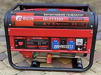 Бензиновый электро- генератор Edon ED-PT3300 3.3 kW генератор медная обмотка, фото 1