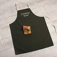 Фартук Cooking Dad коричневый (6535)